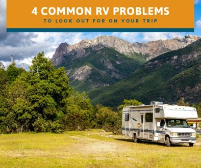4 Common RV Problems to Look Out for on Your Trip