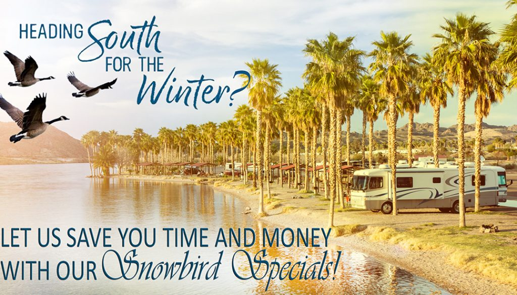 Snowbird Special at RV Water Filter Store