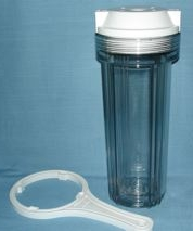 clear canister with wrench only