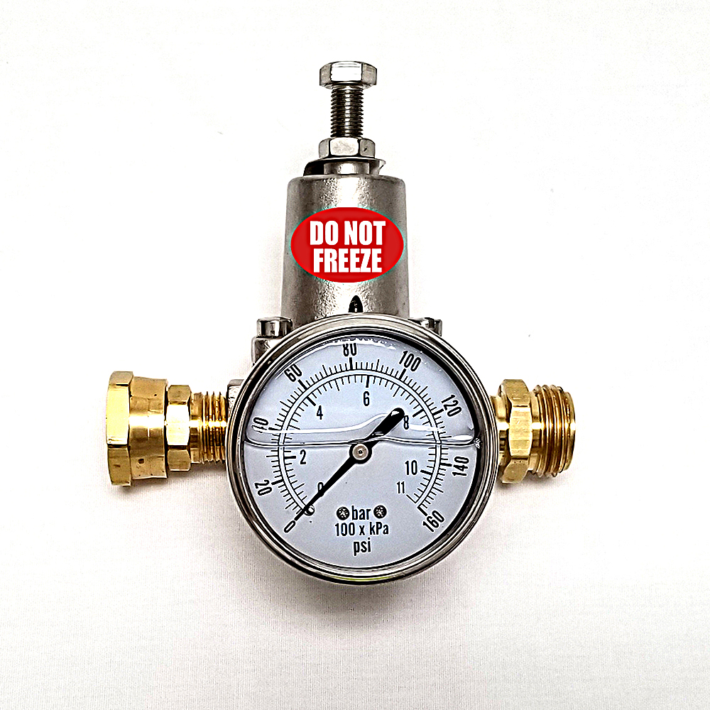 Stainless Steel Body 263a Regulator Rv Water Filter Store