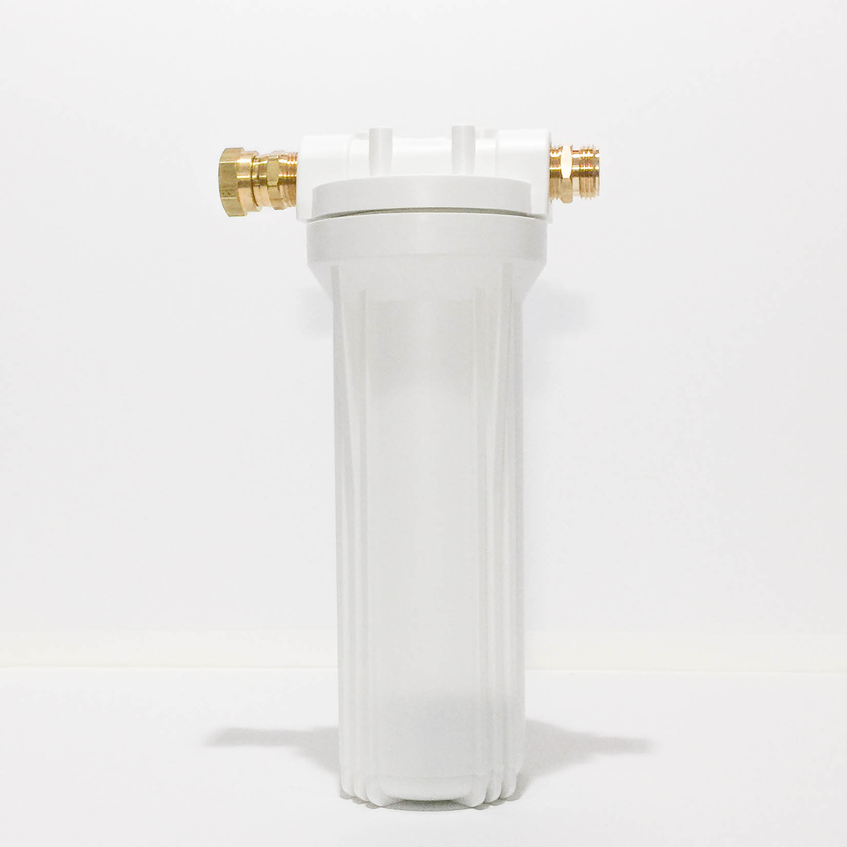 Single White Canister With Hose Fittings Amp F1pb Cartridge